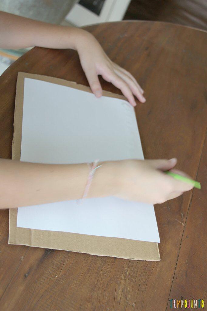 Pintura com limao - carol pintando