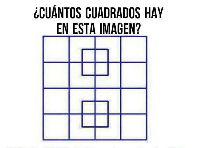 Vamos brincar de pensar usando jogos e adivinhas - quadrados