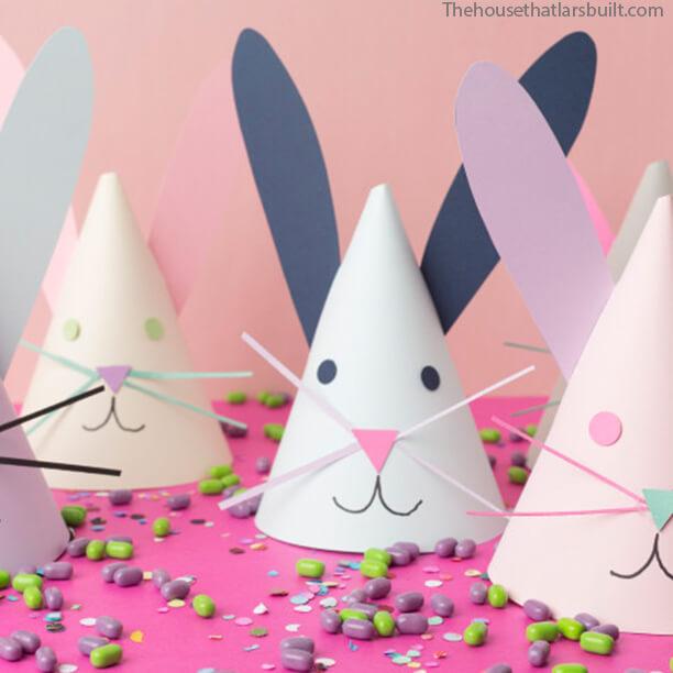 10 ideias para a pascoa - chapeu de coelho