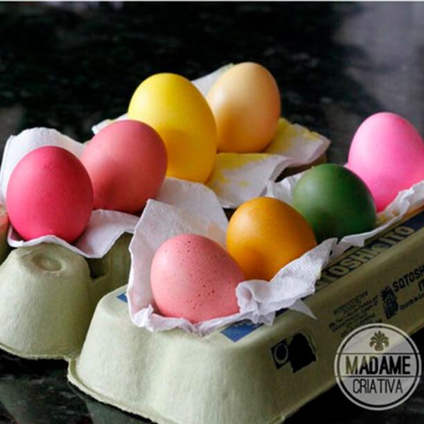 Arte com cascas de ovos para aquela lembrança de última hora - madame criativa
