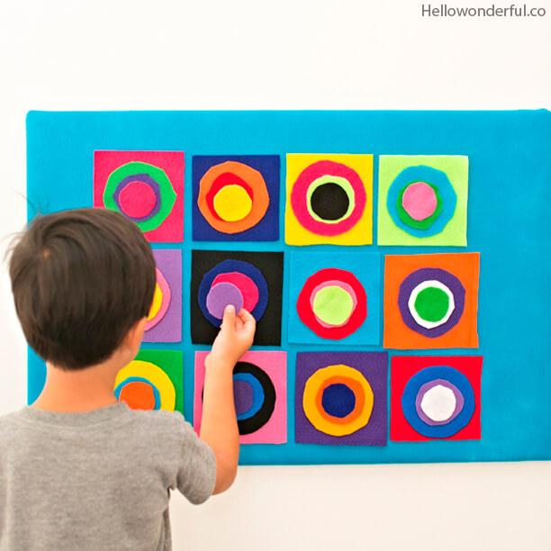10 atividades inspiradas nos grandes mestres da Arte - kandinsky