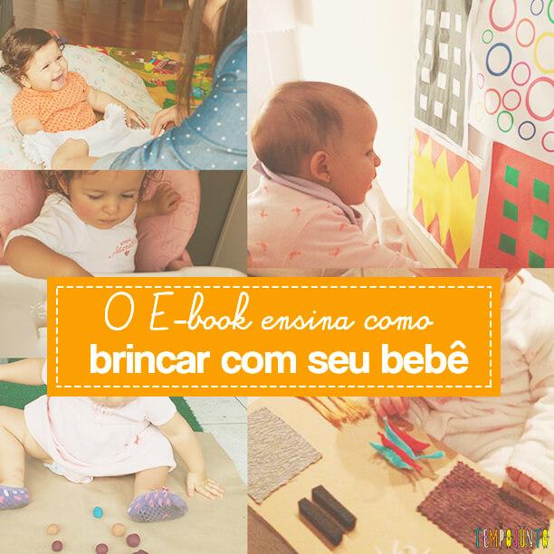 E-book Atividades Sensoriais para estimular seu bebê