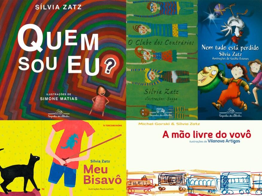 Leitura brincante com a autora Silvia Zatz - foto livros