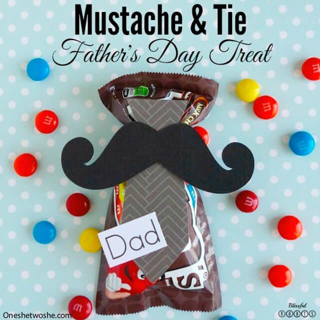 10 ideias criativas de presentes para o Dia dos Pais - mem com gravata