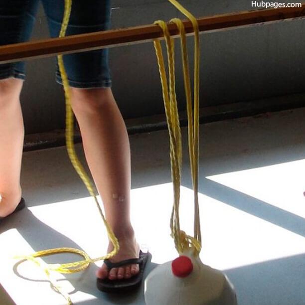fae7a6bb5cd 10 maneiras de brincar com corda - sistema de polias