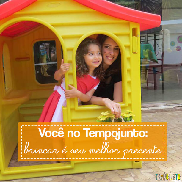 Você no Tempojunto: Brincar é seu melhor presente com Paula Marconi