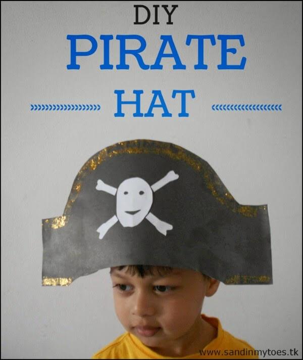 Chapeu de pirata