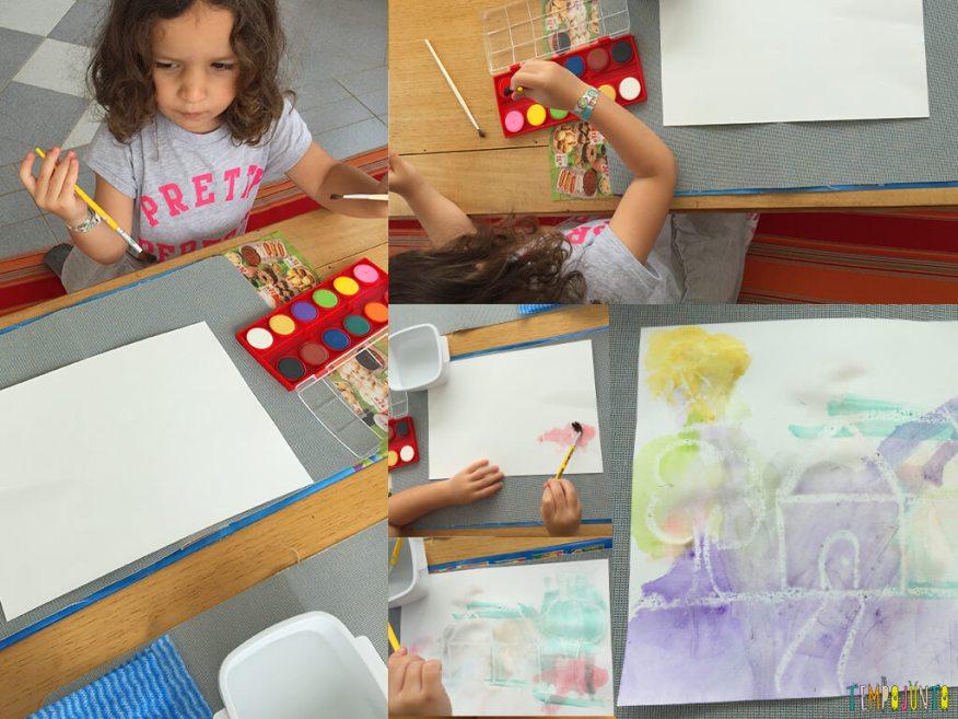 Como fazer o truque do desenho secreto - gabi pintando o seu desenho