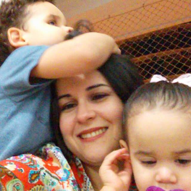 Você no Tempojunto Hedrienny Cardoso e a experiência com filhos com deficiência - foto hedrienny e filhos