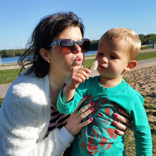 Você no Tempojunto Daniela Mioti e a viagem com o bebê - daniela e filho