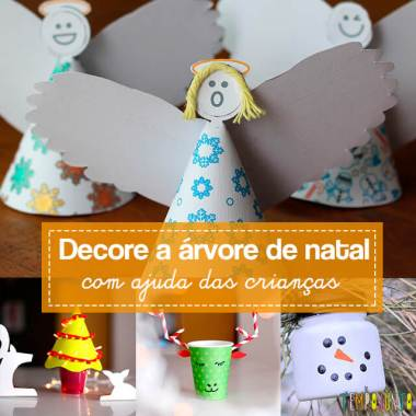 10 ideias criativas de enfeites para a árvore de Natal