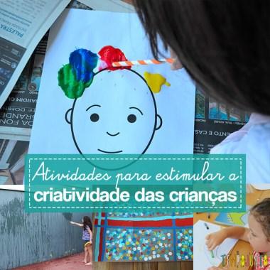 Mais 10 atividades criativas para fazer com as crianças