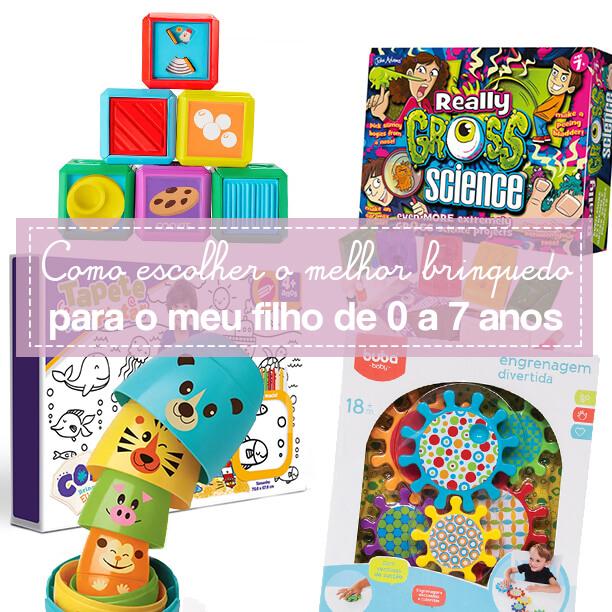 Dicas para escolher os brinquedos dos seus filhos