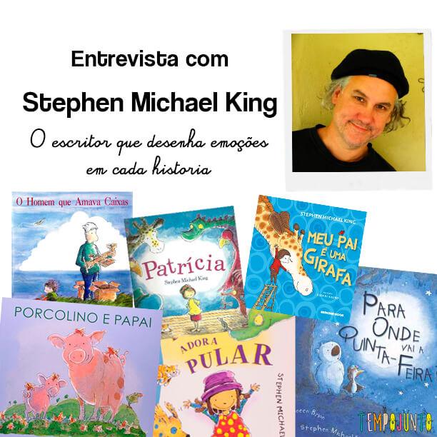 Stephen Michael King: o autor das emoções infantis