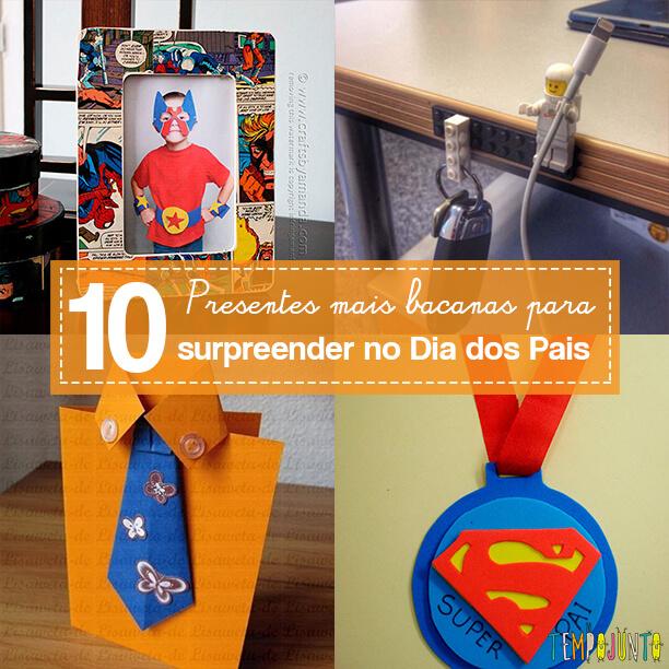 10 sugestões de presentes DIY para o Dia dos Pais