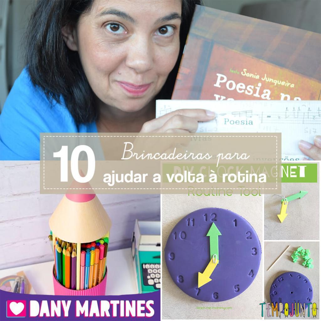 10 brincadeiras para ajudar na volta às aulas
