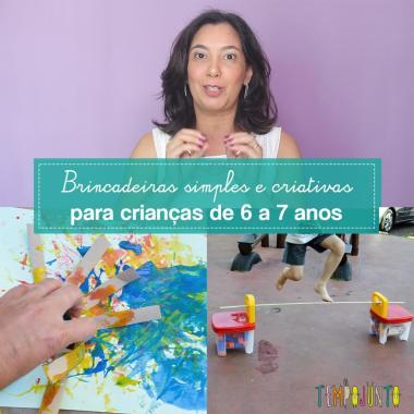 10 top brincadeiras para crianças de 6 e 7 anos