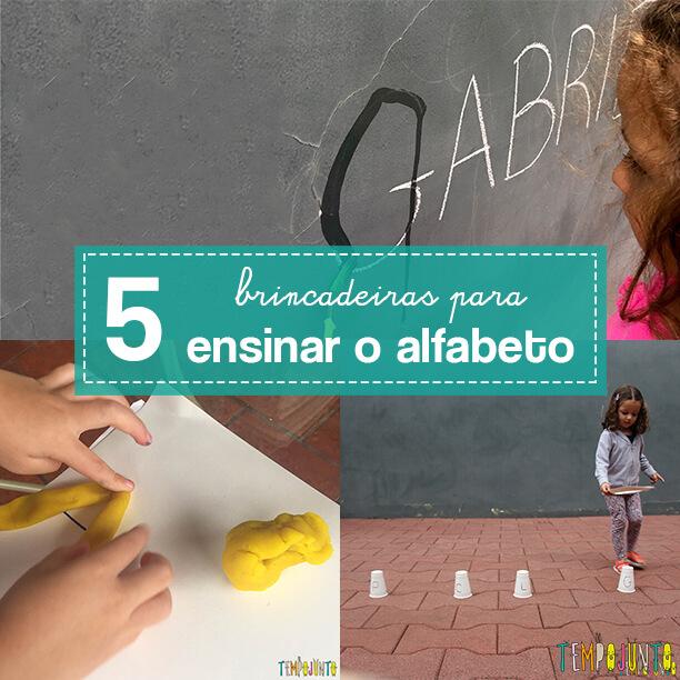 Como ensinar o alfabeto de forma divertida – 5 ideias