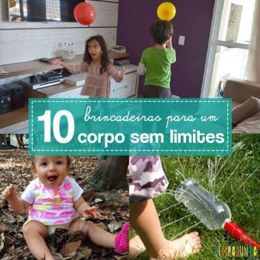 10 ideias para incluir todas as crianças na brincadeira