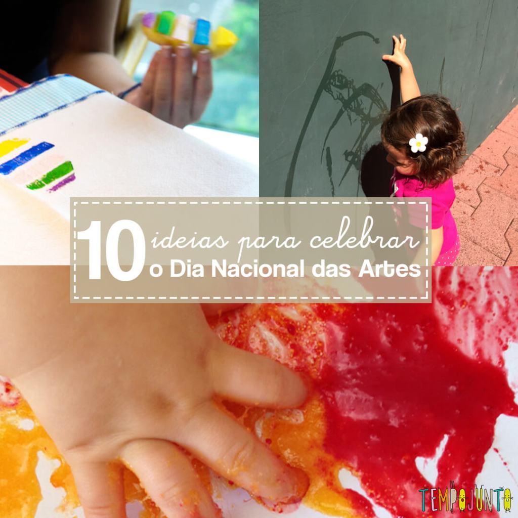 Dia Nacional das Artes: ideias para fazer com crianças