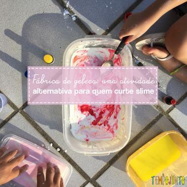 Experimento alternativo para quem gosta de fazer slime