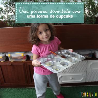 Gincana de objetos para crianças