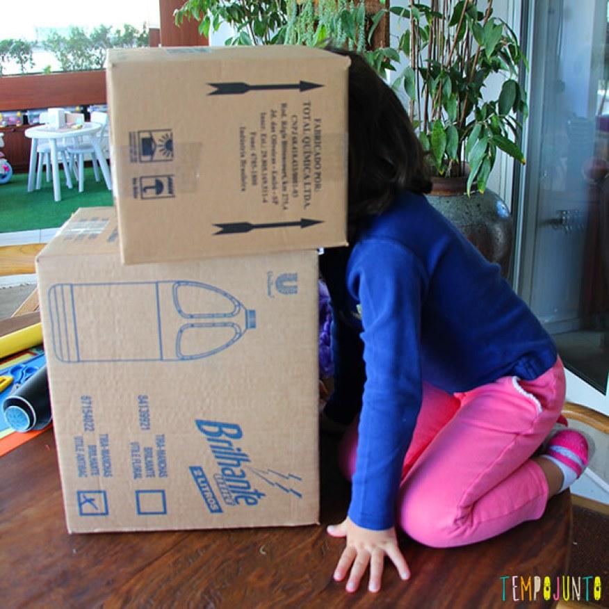 materiais não estruturados_caixas de papelão