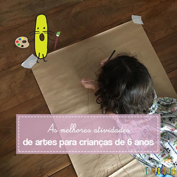Atividades de artes para crianças de 6 anos – TOP 10