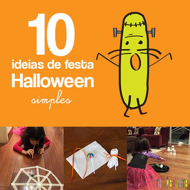 10 ideias de festa de Halloween simples