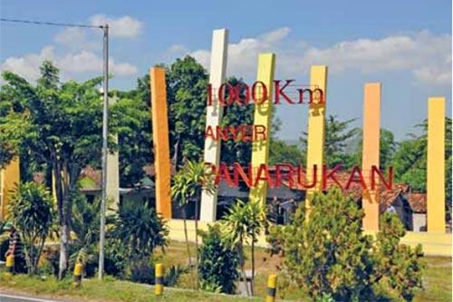 1000 km Anyer-Panarukan roads