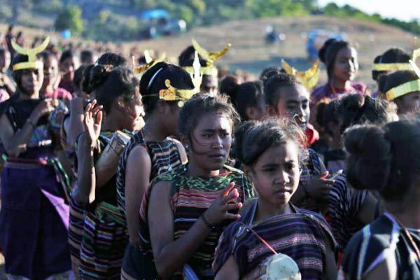 girls Fehan Fulan Festival