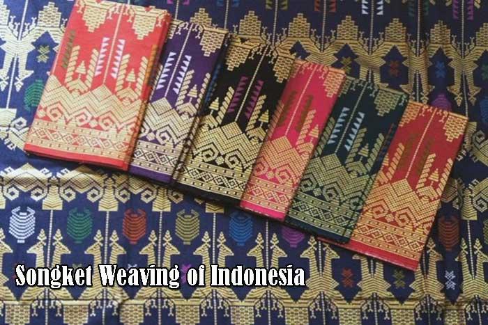 Songket Weaving of Indonesia
