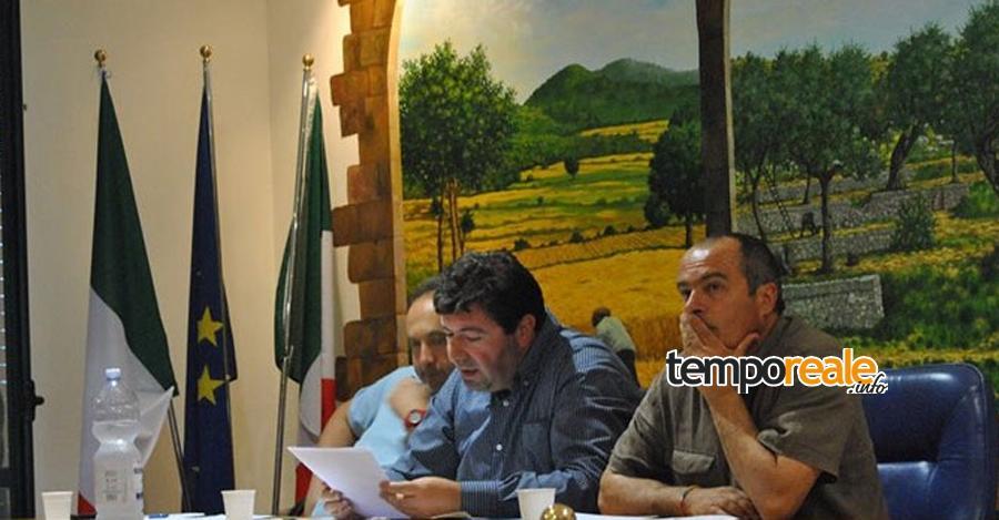"""Simone Costanzo, Maurizio Belmonte e Angelo Urgera, consiglieri comunali della lista civica """"Coreno Bene Comune"""""""