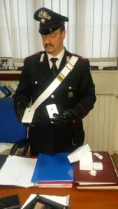 carabinieri iphone rubati