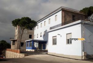 L'ex ospedale di Minturno