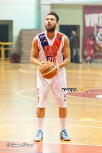 Daniele Grilli, guardia Virtus Cassino