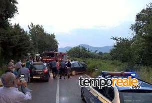 Il luogo dell'incidente (Fonte: Il Mattino)
