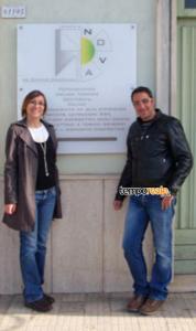 Stefano Colarullo e Olga Zangrillo