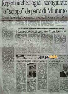 L'articolo pubblicato