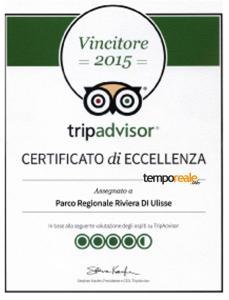 certificato trip adv parco riviera