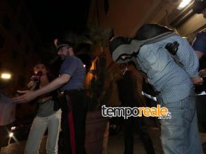 L'arresto di Ludovico Caiazza (fonte: La Presse)