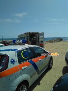 Ambulanze decesso 7 settembre 2015 a Sperlonga (Medium)