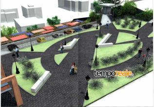 Progetto multipiano e area verde
