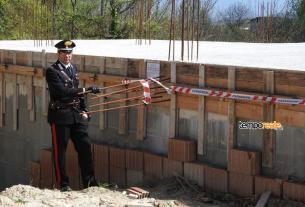 Cassino Esecuzione di lavori edili in assenza del permesso di costruzione, denunciato un 38enne