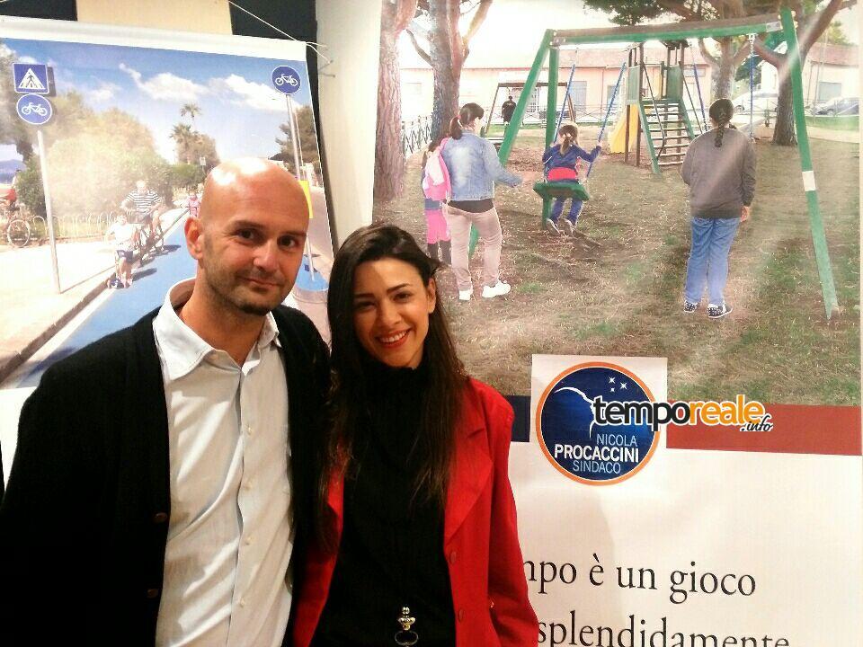 Sara Norcia e Nicola Procaccini