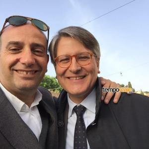 Gerardo Stefanelli e Claudio Moscardelli