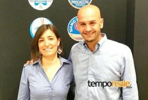 Simona Grossi e Nicola Procaccini