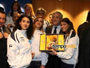 Ebt Finals Mascotte Parlamento Europeo Tajani