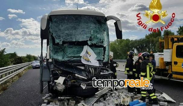 Castelforte / Incidente stradale, muore sul colpo un autista macedone di 46 anni