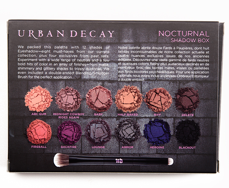 Image result for urban decay nocturnal palette